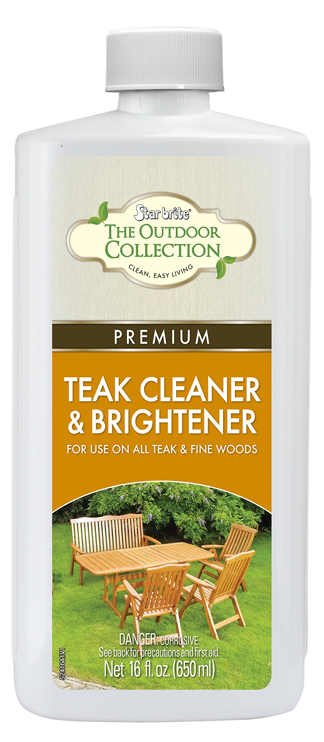 Star brite One-Step Teak Cleaner & Brightener 16 oz