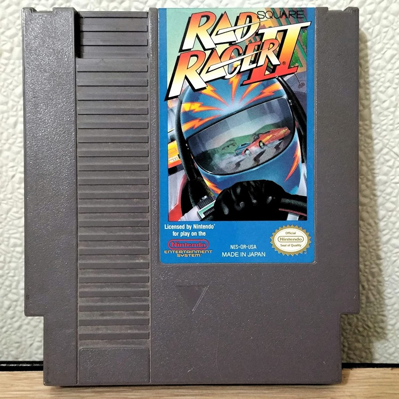 Amazon Com Rad Racer 2 Nes Nintendo Video Game Video Games