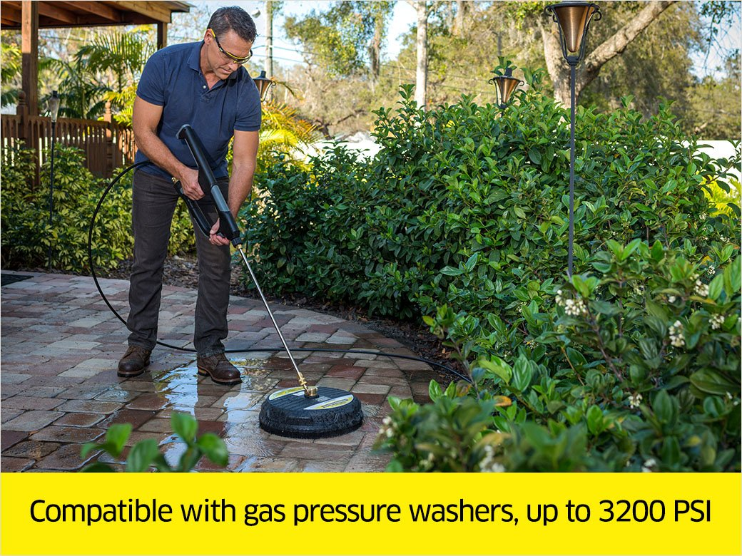 Karcher 15-Inch Pressure Washer Surface Cleaner Attachment, 3200 PSI Rating by Karcher (Image #4)