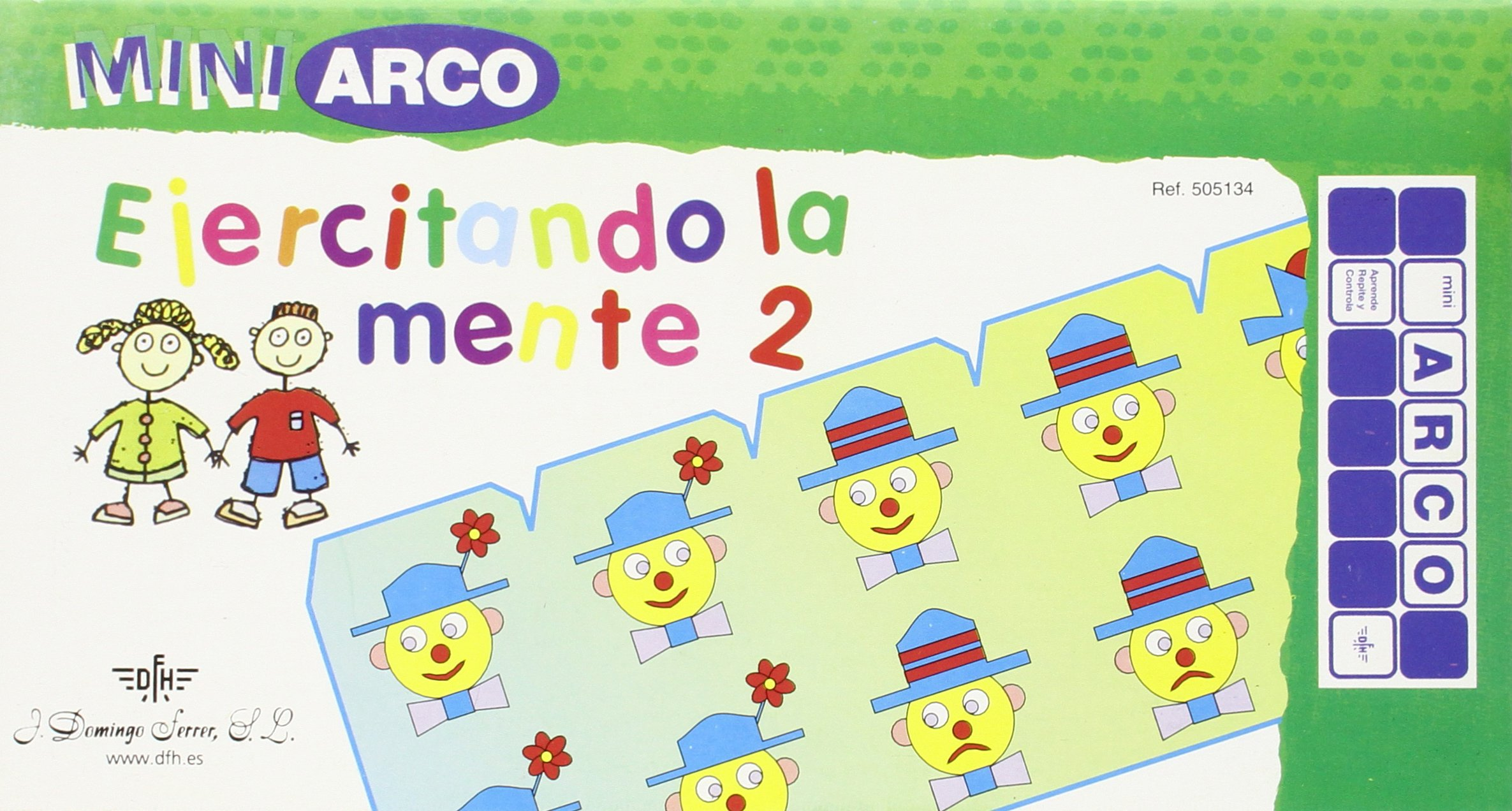 EJERCITAND.MENTE 2 MINI ARC 5134: Amazon.es: Aa.Vv.: Libros