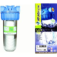 Atlas Single Stage Water Filter 3/4 Inch In and Out Made in Italy