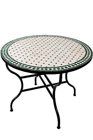 Original Oriental marocain méditerranéen Orient Table Küchentisch ...