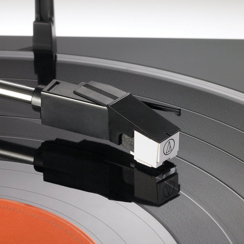 Audio Technica AT-LP60BK-BT Tocadiscos estéreo inalámbrico ...