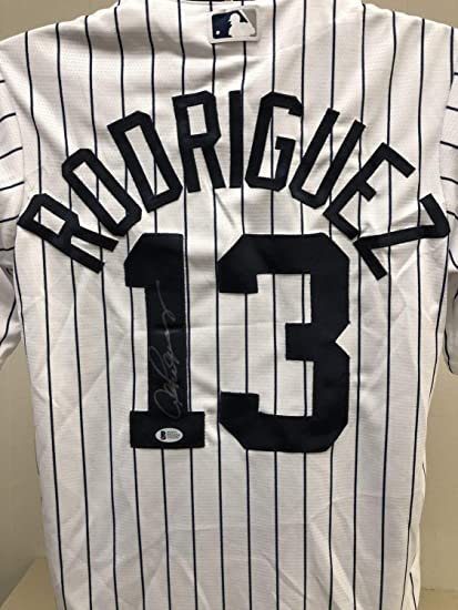 lowest price 9850d 1526d Alex Rodriguez Autographed Signed New York Yankees Jersey ...