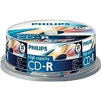 Philips CD-R 800 MB Data (Gbyte/90 Minuten, Multi Speed Recording 25er