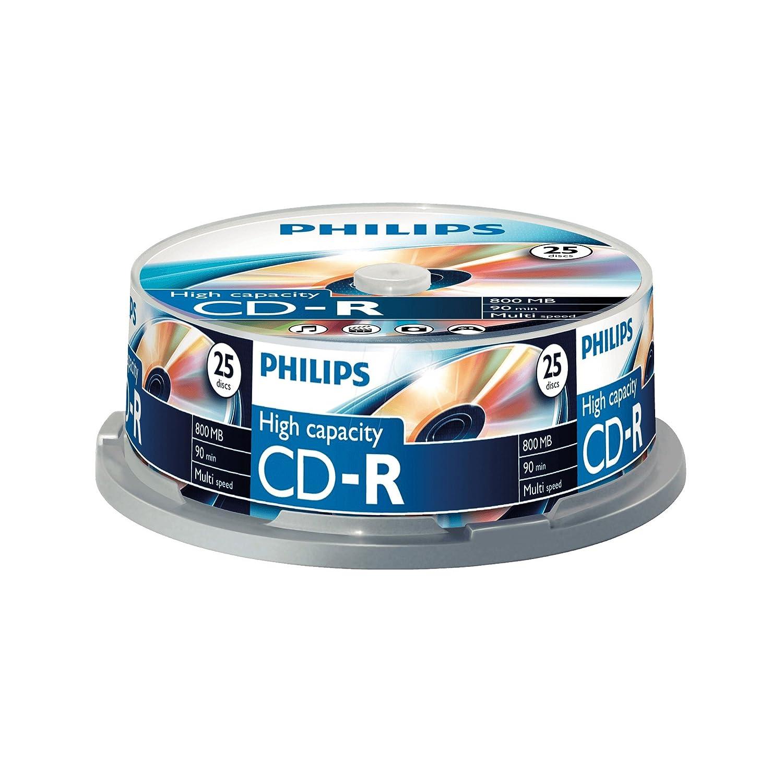 Philips Cd-R Cr8D8Nb25 - Blank Cds 908210004641