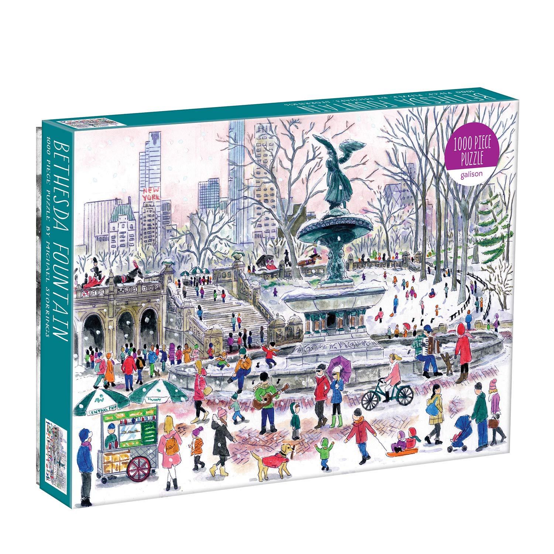 Michael Storrings Bethesda Fountain 1000 Piece Puzzle