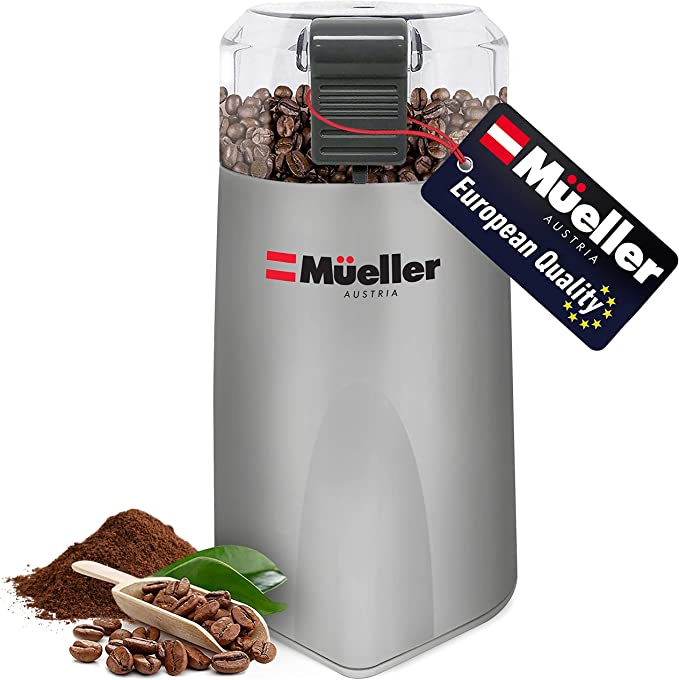 Mueller Austria HyperGrind Precision Electric Spice/Coffee Grinder - Incredibly Effective & Efficient