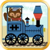 Train Games for Kids: Zoo Railroad Car Puzzles HD - The Best Cool and Fun Animated Puzzle Game for Preschool, Kindergarten, and Young Children