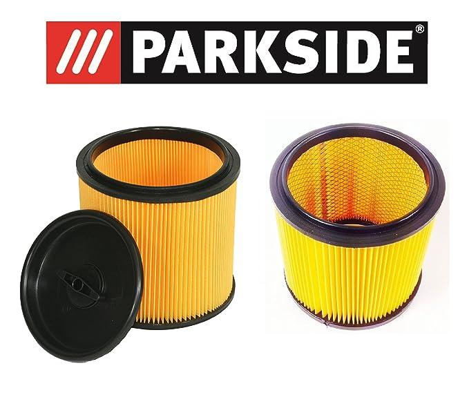 Parkside Lidl Kit de filtre pour aspirateur sec humide PNTS composé 91099009& 91092030pour tous les modèles Parkside