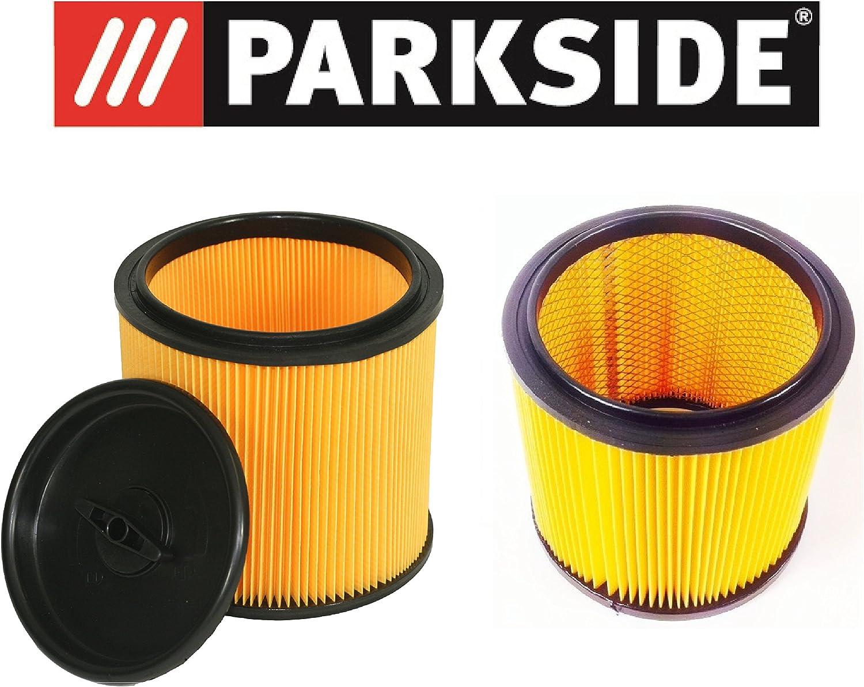 Parkside Lidl Juego de filtros para aspiradora en seco húmedo pnts compuesto de 91099009 & 91092030 para todos los modelos: Amazon.es: Hogar