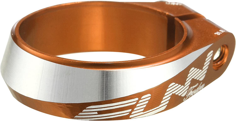 FUNN Minerve tige Frodon 34,9/mm Aluminium Orange anodis/é colliers et blocages //selle Seatpost Clamp Frodon 34,9/mm Aluminium Anodized Orange Seat Collars