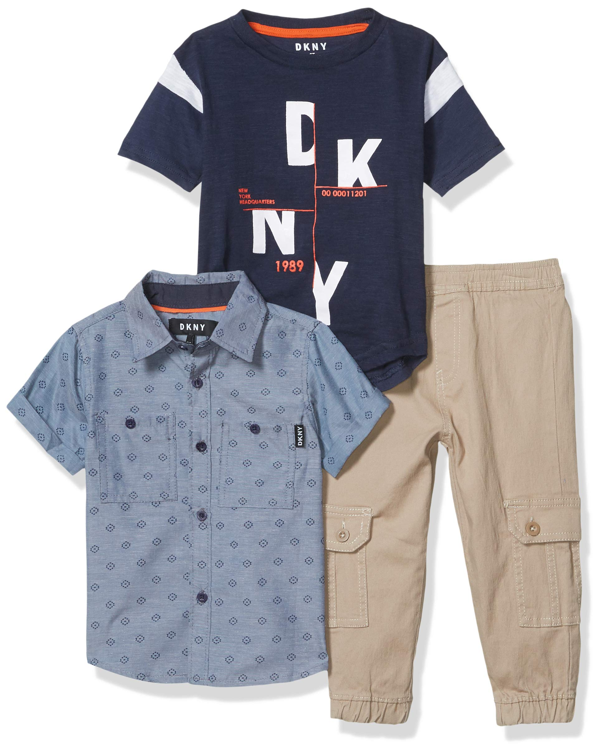 DKNY Boys' 3 Piece Set