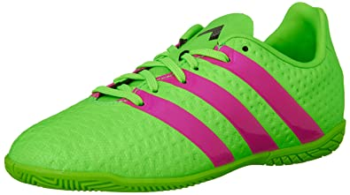 d3731229b937 adidas Performance Ace 16.4 IN J Soccer Shoe (Little Kid Big Kid)