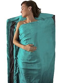 ripstop silk Cocoon Expedition MummyLiner medium noir sac de couchage l/éger