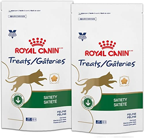 Royal Canin Veterinary Diet Satiety Feline Cat Treats 7.8 oz 2 Bags