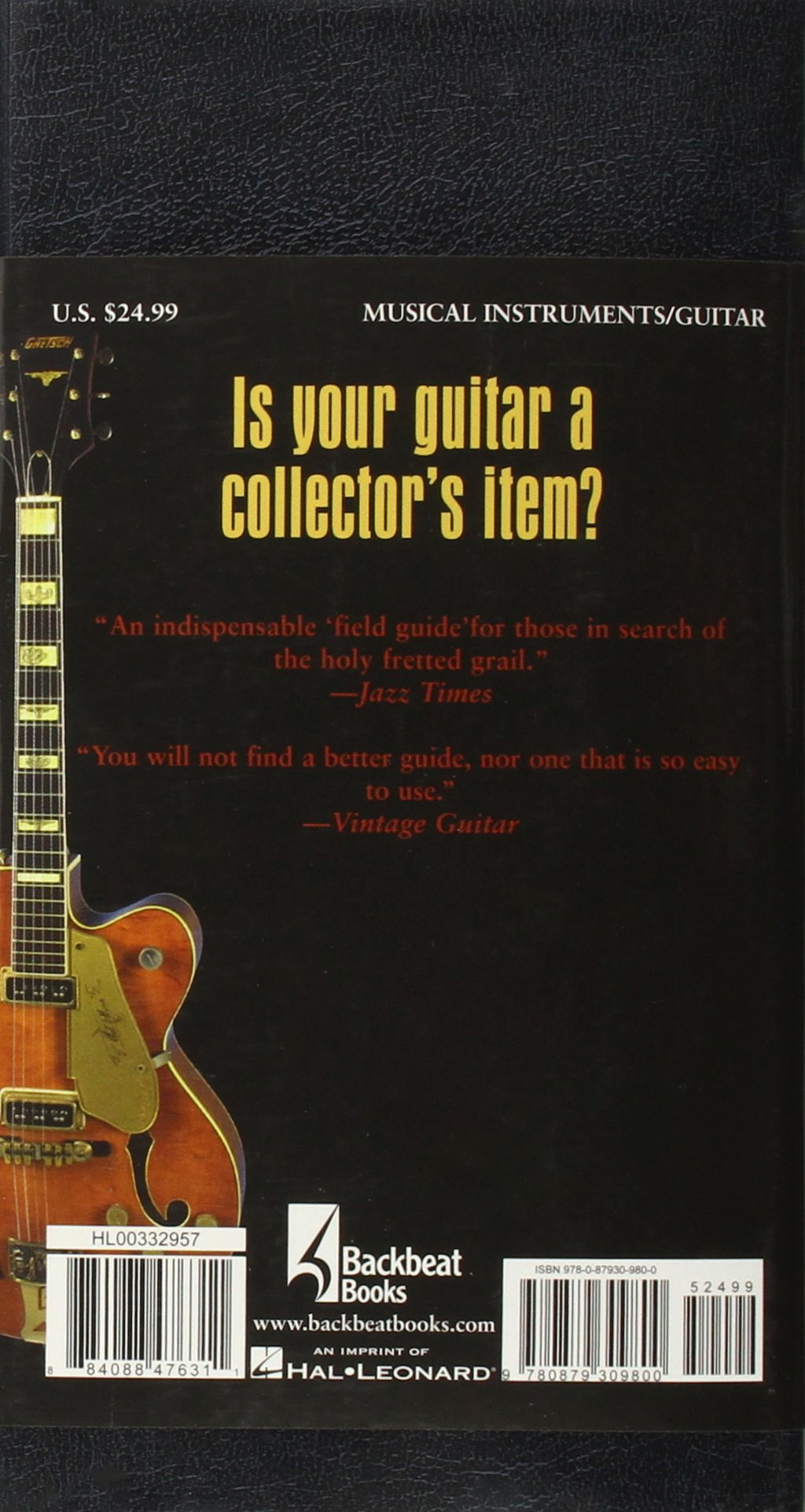 gruhn s guide to vintage guitars an identification guide for