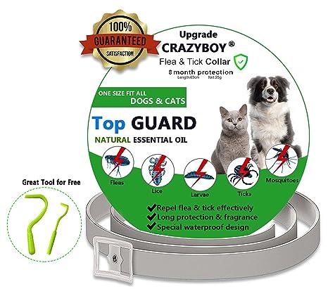 Collares Antiparasitario para Perros y Gatos, Collar Antiparasitario para Perros contra Pulgas