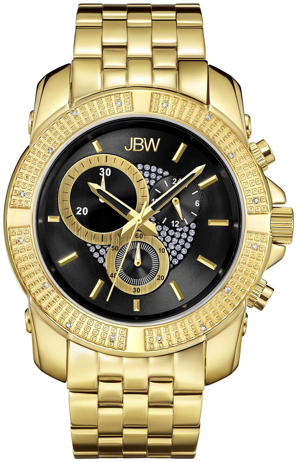 Jbw Men's Warren J6331A Multi Function Diamond Watch 2