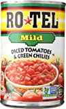 Ro-Tel Tomatoes Diced with Green Mild Chiles, 10 oz
