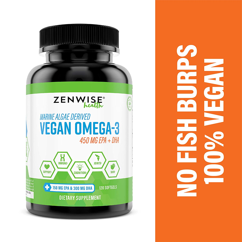 5. Zenwise Health Vegan Omega-3