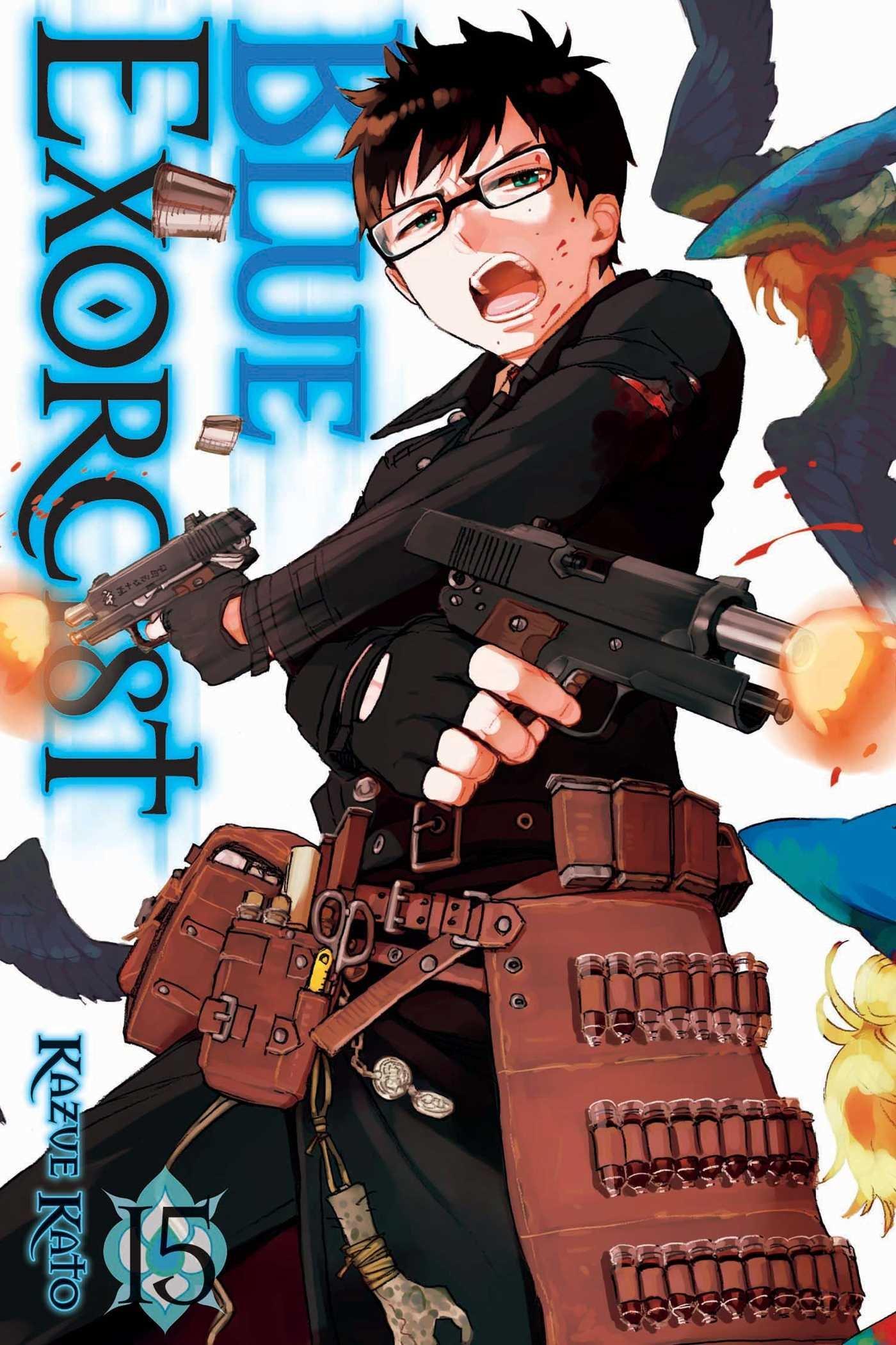 blue exorcist vol 15 kazue kato 9781421585079 amazon com books