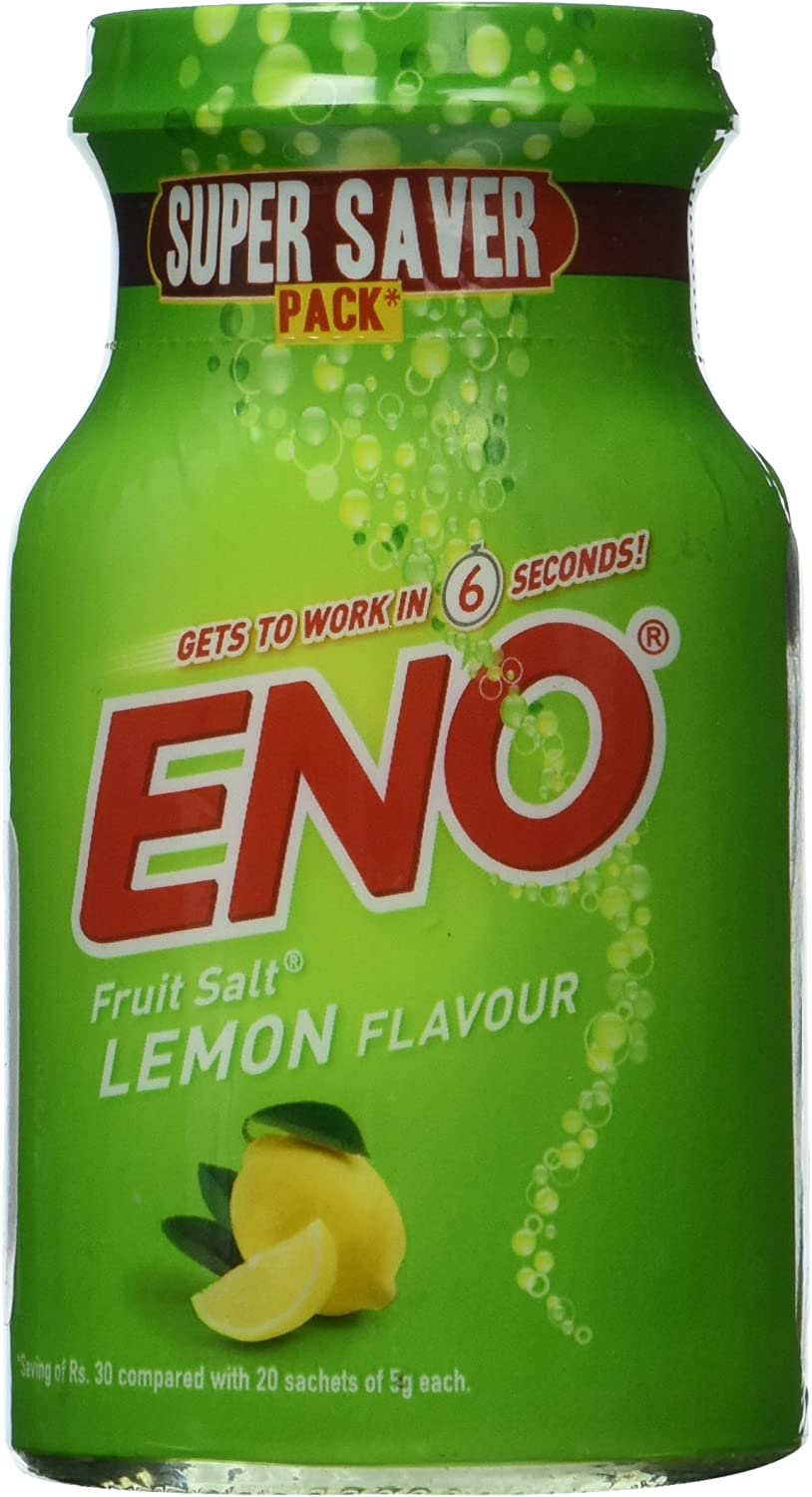 ENO Fruit Salt (Lemon)- 100g: Health & Personal Care