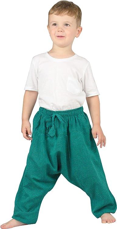 Shiningup Baby-M/ädchen-Blommers-Pluderhosen b/öhmische Sommer-Kind-Kinderhose f/ür 2-6 Jahre alt
