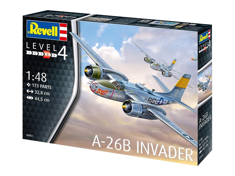 Revell-A-26B Invader 03921 Escala 1: 48 3921 Kit de Modelo