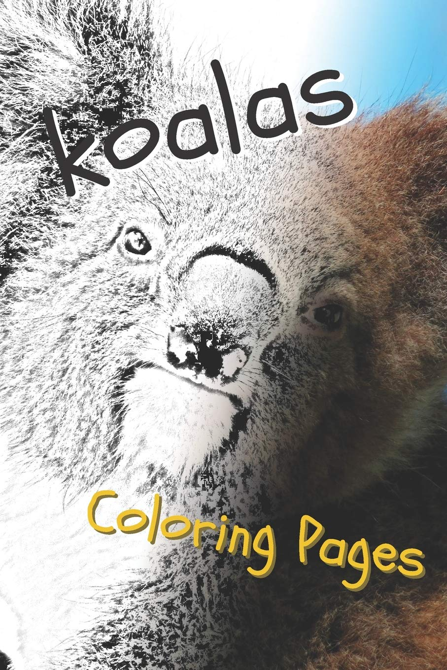 Amazon.com: Koala Coloring Pages: beautiful drawings for ...