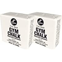 Cramer Gym gis para gimnasia, levantamiento de pesas, escalada, y Pole Fitness, Escalada Gear, gis, mano de gis de elevación, bloque de gis, equipo de escalada en roca, carbonato de magnesio, color blanco