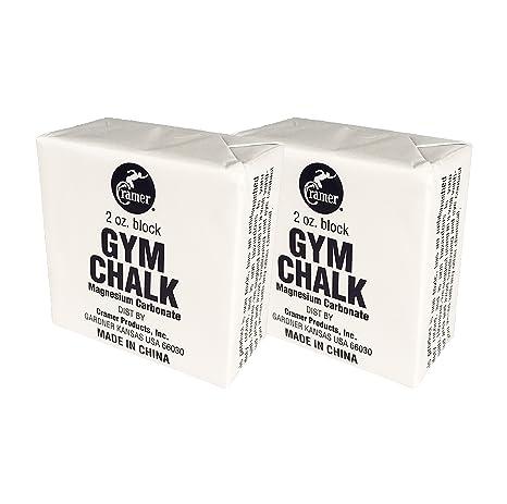 Cramer gimnasio tiza, carbonato de magnesio, color blanco, se envía bloques para gimnasia