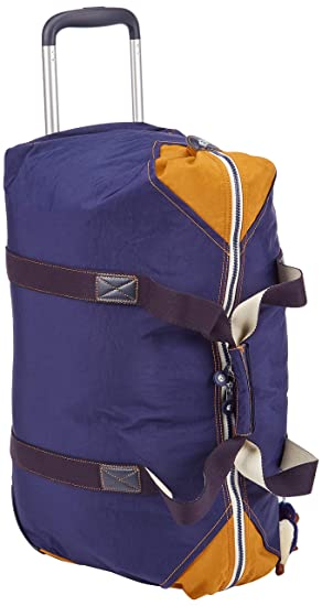Kipling ART ON WHEELS M Equipaje de mano, 64 cm, 30 liters, Azul (Active Blue Bl): Amazon.es: Equipaje