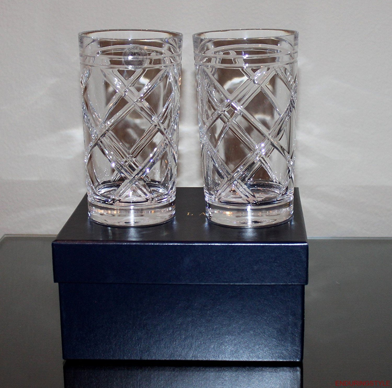 Ralph Lauren Brogan Classic Highball Glasses, Set of 2