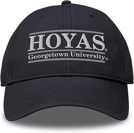 The Game Georgetown Hoyas - Gorra Ajustable con Logo del Equipo de ...