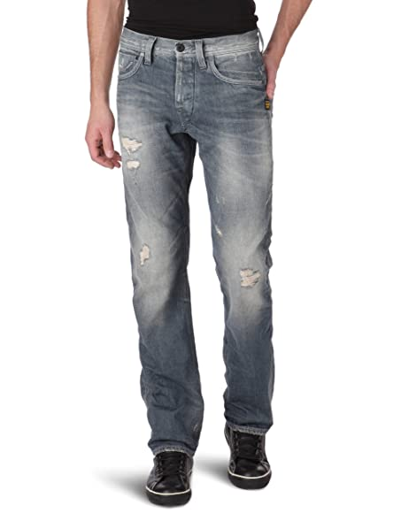 G-Star Raw attacc straight mens jeans 50566 pants (waist 30 leg 32,