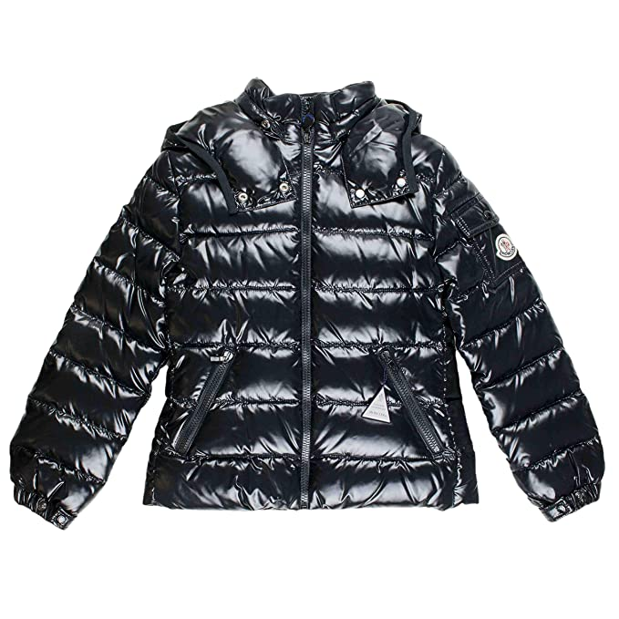 b6ef12e1a Moncler Bady Down Jacket Black: Amazon.co.uk: Clothing
