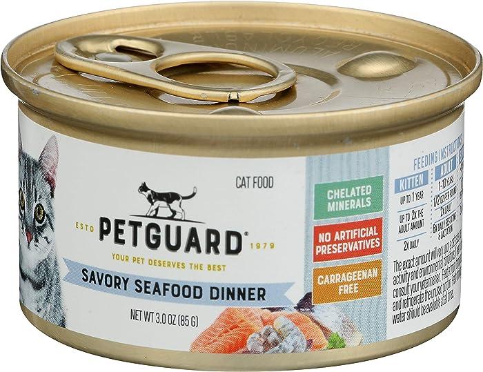 Top 10 Petguard Savory Seafood Dinner Canned Cat Food