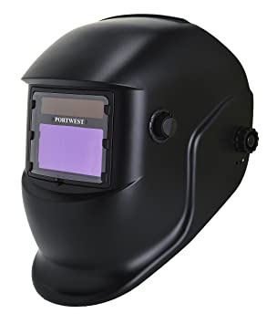 Portwest PW65 - BizWeld Plus casco de soldadura, color Negro: Amazon.es: Industria, empresas y ciencia