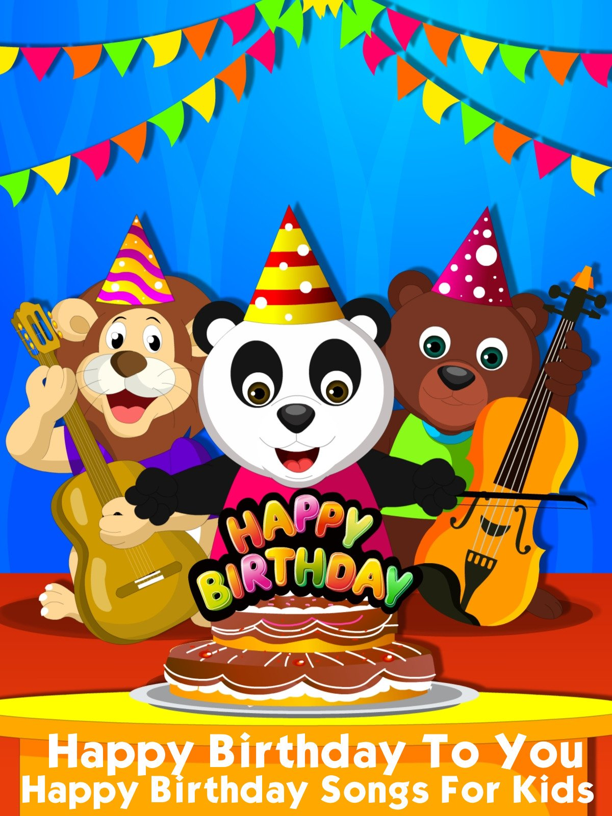 Amazon com: Watch Happy Birthday To You - Happy Birthday Songs For