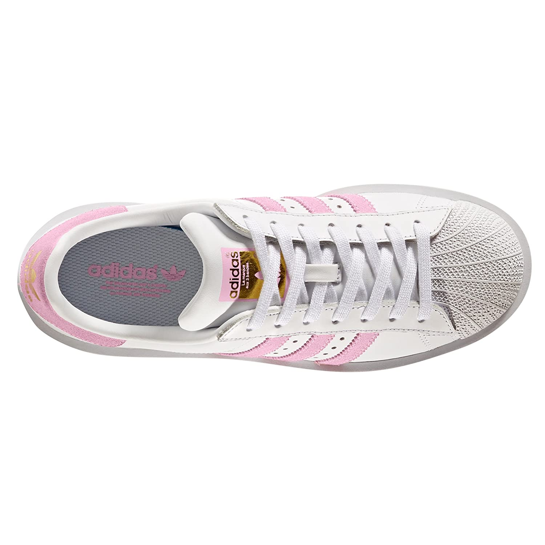 hot sale online 4a782 f2eb0 Adidas Superstar Originale Bold Bianco Rosa BY9076. Piattaforma Sneaker.  Scarpe da Donna (38 EU, Wonder Pink Gold Metallic)  Amazon.it  Scarpe e  borse