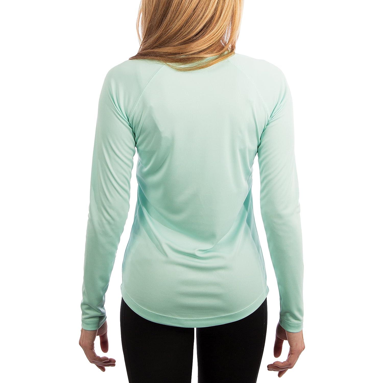 Factor 50+ Camiseta de Manga Larga con protecci/ón Solar contra Rayos UV Vapor Apparel para Mujer