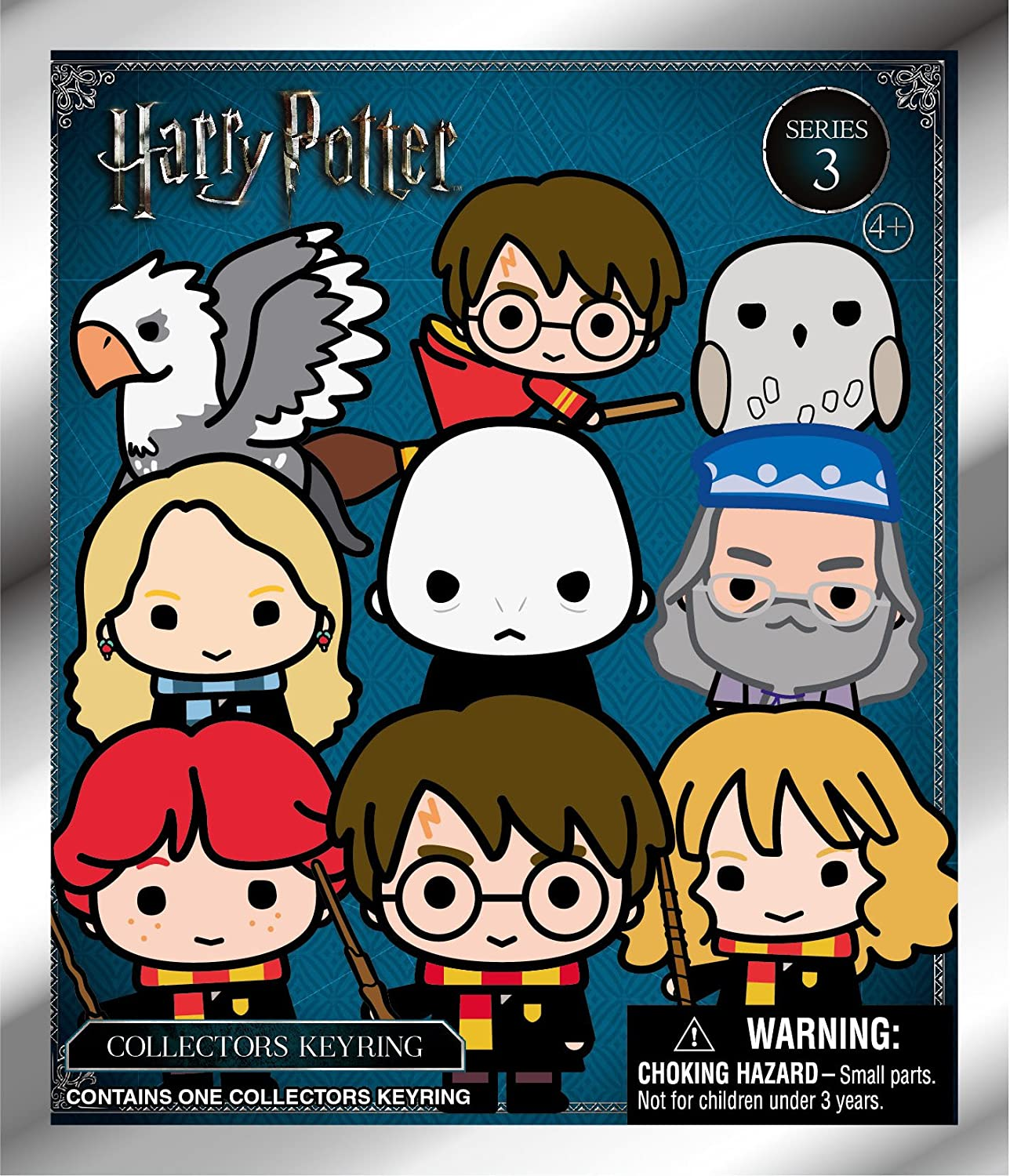 blind bag Harry Potter 3D Collectable Keyrings Series 1 1 only supplied