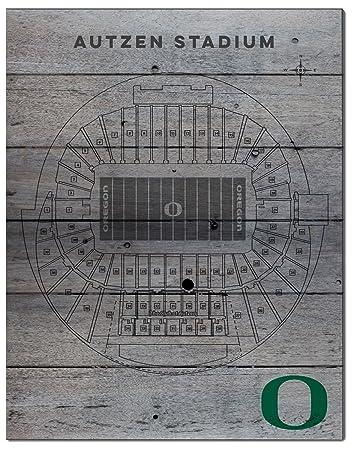 Kh Sports Fan 16 X 20 Oregon Ducks Seating Chart Collage Pallet Pride Plaque