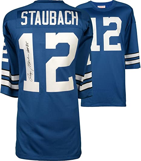 e8bdc4f2971 Image Unavailable. Image not available for. Color: Roger Staubach Dallas  Cowboys Autographed ...