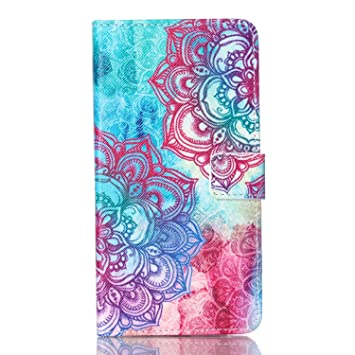 Amazon.com: Note 5 Case, Wallet Design Top-Grade PU Leather ...