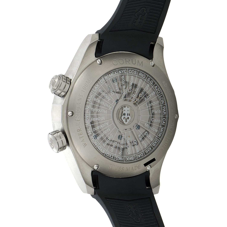 Amazon.com: Corum Admiral Legend 47 Black Dial Mens Watch ...