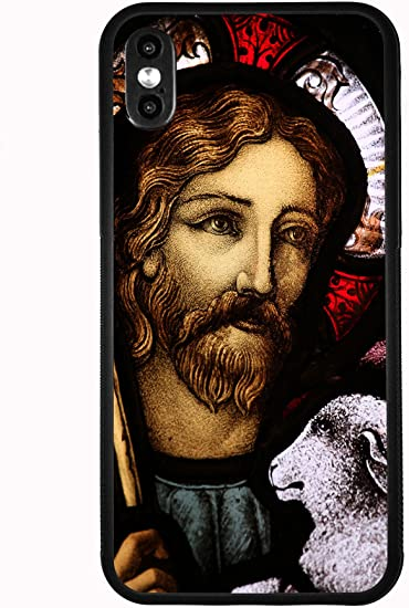JESUS AND THE LAMB iphone case