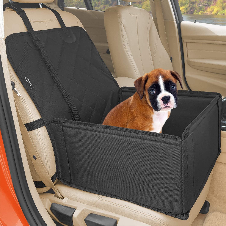 Extra Stabiler Hunde Autositz Hochwertiger Auto Hundesitz Für Kleine Bis Mittlere Hunde Verstärkte Wände Und 3 Gurte Wasserdichter Hundeautositz Für Rück Und Vordersitz Haustier
