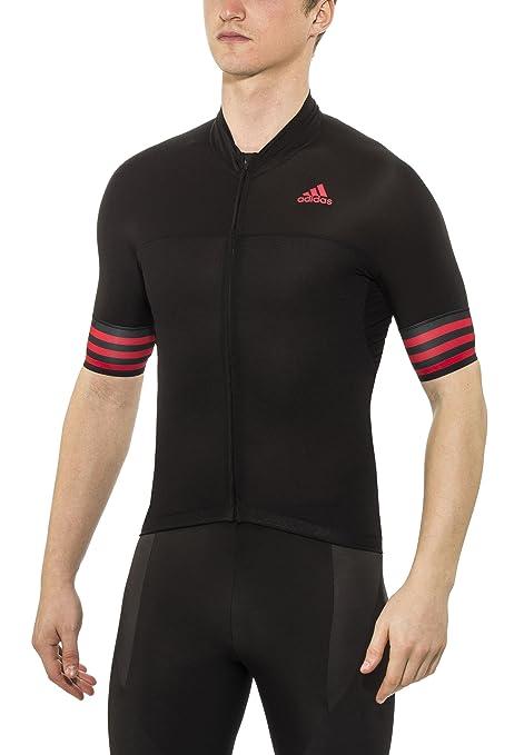 adidas Adistar SS Jersey Men BlackVivid red Größe S 2016